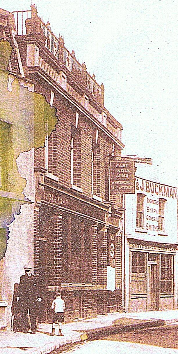 East India Arms Poplar Another Lost Pub
