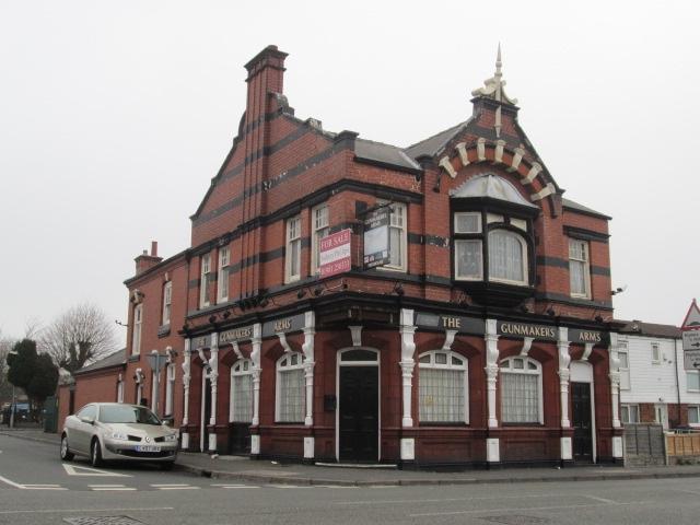 Lost pubs in birmingham warwickshire for Crown motor inn gun hill